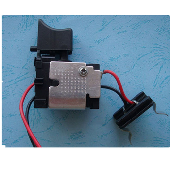 7.2v-18v DC switch replacement for makita/hitachi rechargeable electric drill one-piece DC switch general style replacment electric drill hitachi d13vg