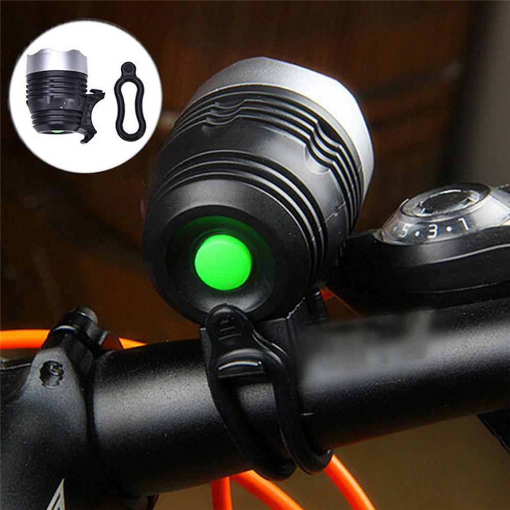 Adjustable Cycling Light Handlebar LED Headlight Front Bike Flashlight Bicycle Strong Lights With USB Rechargeable