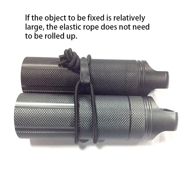 Outdoor Tool Storage Tied Ropes Elastic Packing Rope For Camping Travel Device Hot Ribbon Fixed Buckled Coil Strap