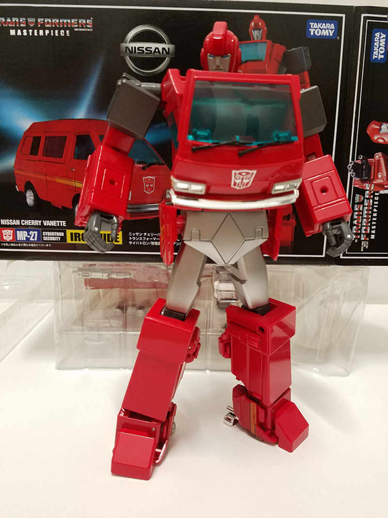 Transformers Masterpiece MP-27 MP27 IRONHIDE Autobots Action Figure Gift