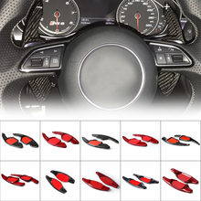 Carro Volante DSG Paddle Shift Shifter Engrenagem Direta Para Audi A3 RS3 A5 RS6 A4L A6L R8 A7 Q3 A8 Q5 S5 Q7 S6 TT TTS S7 S8