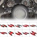 Автомобильный рычаг переключения рулевого колеса из углеродного волокна для Audi A3 RS3 A5 RS6 A4 A6 R8 A7 Q3 A8 Q5 S5 Q7 S6 TT S7 TTS S8
