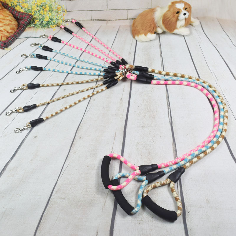 Multi-functional Dog Hand Holding Rope Triple Dog Lanyard Sub-Traction 3 Dogs A Lanyard Multi-Hold Anti-Winding
