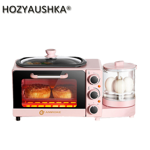 Тостерная домашняя машина для завтрака, небольшая многофункциональная автоматическая машина для приготовления сэндвич-печей