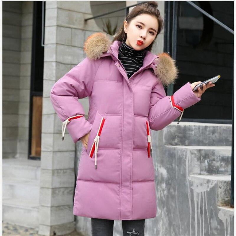 5XL grande taille femmes Parkas Long femelle fausse fourrure col hiver manteau femmes épais chaud hiver veste femmes neige porter E03