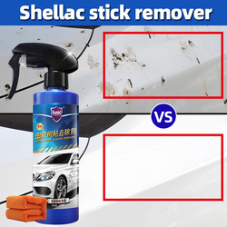 Car Cleaning Paint Care Shellac tree adhesive remover adhesive tartar two-sided cleaning and stain removal device