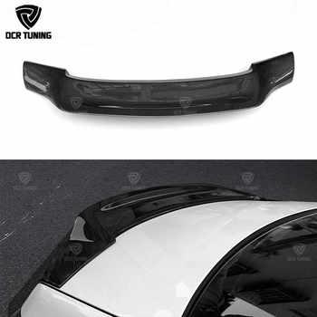 For Mercedes W212 Carbon Spoiler E Class Sedan 4 Door W212 E63 Carbon Fiber Spoiler Renntech Style Rear Trunk Wing 2010 - 2016 - DISCOUNT ITEM  30 OFF Automobiles & Motorcycles
