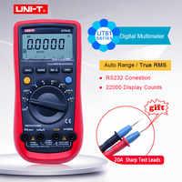 Multimètre numérique de UNI-T UT61A/B/C/D/E; Ohm mètre de courant de volt cc à ca; maintien de données de Test de sonnerie de continuité de Diode de fréquence de capacité