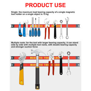 Magnetic-Tool-Holders Wrench Strip Metal for Screwdriver Heavy-Duty Strong
