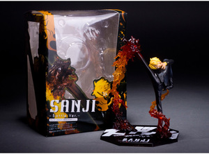 Image 3 - Anime One Piece Ronoa Zoro Ghost 3D2Y Three knife Ghost Cut Ver. Sauron PVC Action  Collection Figure Model Gift Luffy 21cm