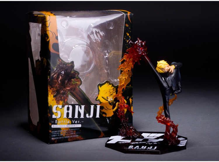 Anime 원피스 Ronoa Zoro Ghost 3D2Y Three-knife Ghost Cut Ver. 사우론 PVC 액션 콜렉션 피겨 모델 선물 루피 21cm