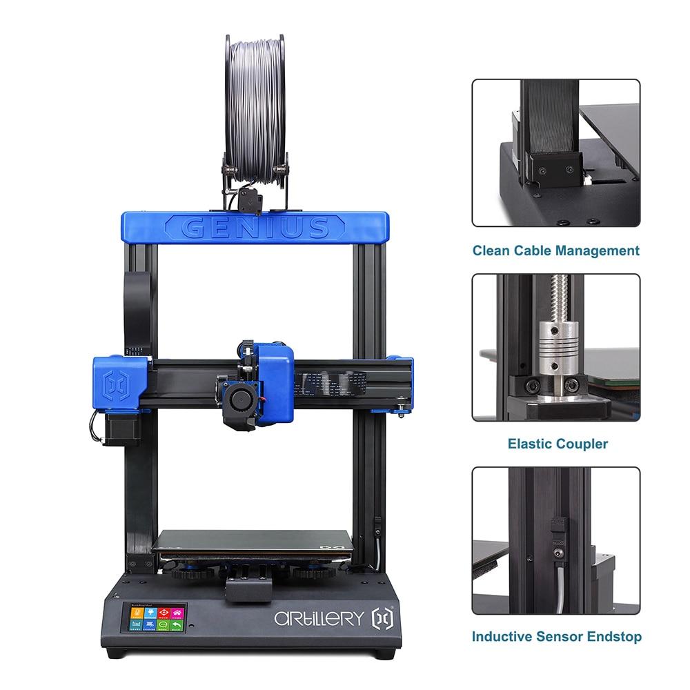 DIY Artillery Genius 3D Printer Kit High-precision dual z-axis Ultra-Quiet Stepper Motor TFT Touch S