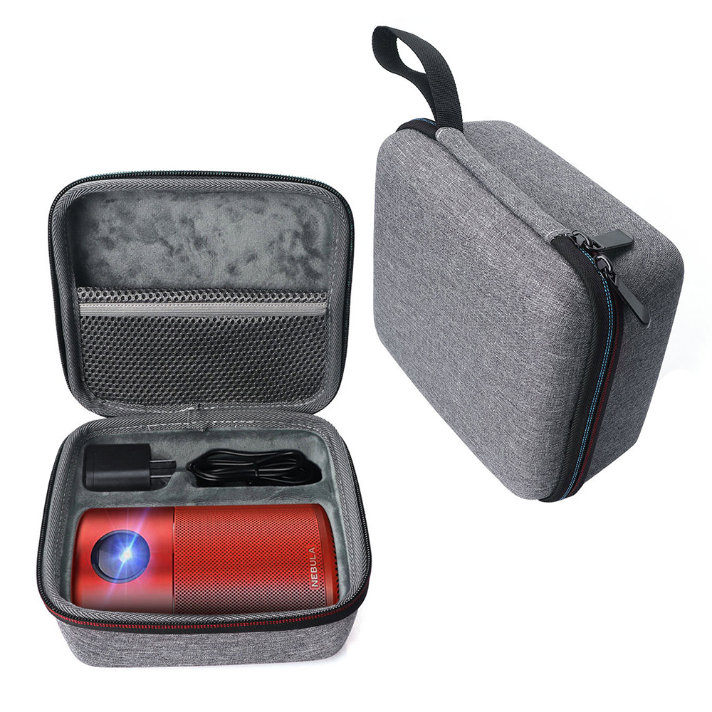 2019 Newest Hard EVA Travel Bag Cover Case for Anker Nebula Capsule II Smart Mini Projector Drive and Accessories image