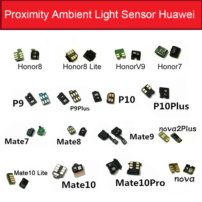 Light Proximity Sensor Flex Cable For Huawei Mate 7 8 <font><b>9</b></font> 10 Pro P9 P10 Plus <font><b>Honor</b></font> 7 8 V9 <font><b>Lite</b></font> Nova2 Plus Proximity Sensor <font><b>Parts</b></font> image