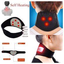 Terapia magnética pescoço massageador auto-aquecimento pescoço massagem dor aliviar pescoço mais quente guarda médica massageador ferramenta pescoço cuidados de saúde
