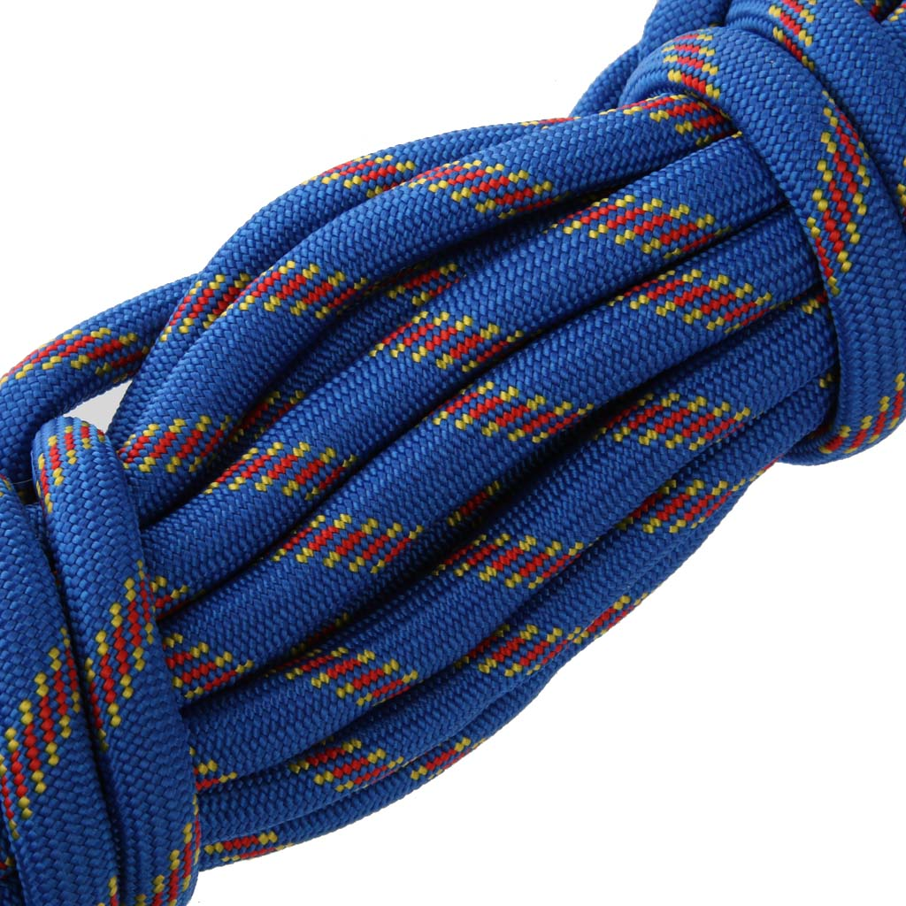 Multi-purpose 10M 10mm Outdoor Climbing Rope Climbing Safety Rescue Rope