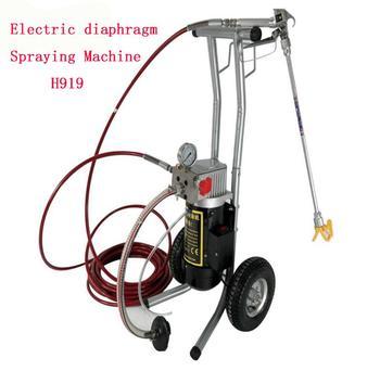 Electric diaphragm High Pressure Airless Spraying Machine Emulsioni paint sprayer H919 painting spraying machine