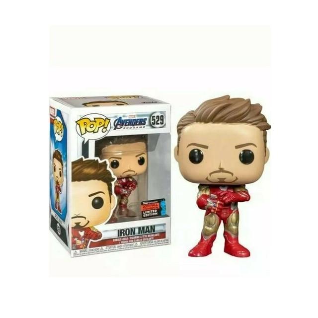 FUNKO POP Iron Man Mark I Marvel Studios Summer Exclusive SDCC Action Figures Model Toys