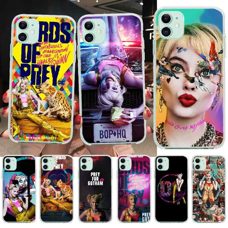 Penghuwan Birds Of Prey Harley Quinn Film Poster 2020 Luxury Phone Case For Iphone 11 Pro Xs Max 8 7 6 6s Plus X 5s Se Xr Cover Aliexpress
