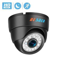 Камера BESDER, инфракрасная купольная камера с широким углом обзора, 1080P, FULL HD, 24 светодиода, ONVIF, RTSP