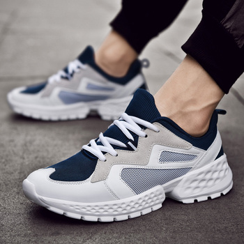 Men Casual Shoes Fashion Trends Light Breathable Sneakers 2019 New Fashion Harajuku Outdoor High Quality Trend Casual Shoes Men
