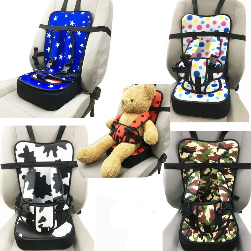 Portable Child Car Seat Cushion Pad Infant Safe Seat Thickening Sponge Kids Car Seats For Boys Girls Baby Kids Safety Car Seat