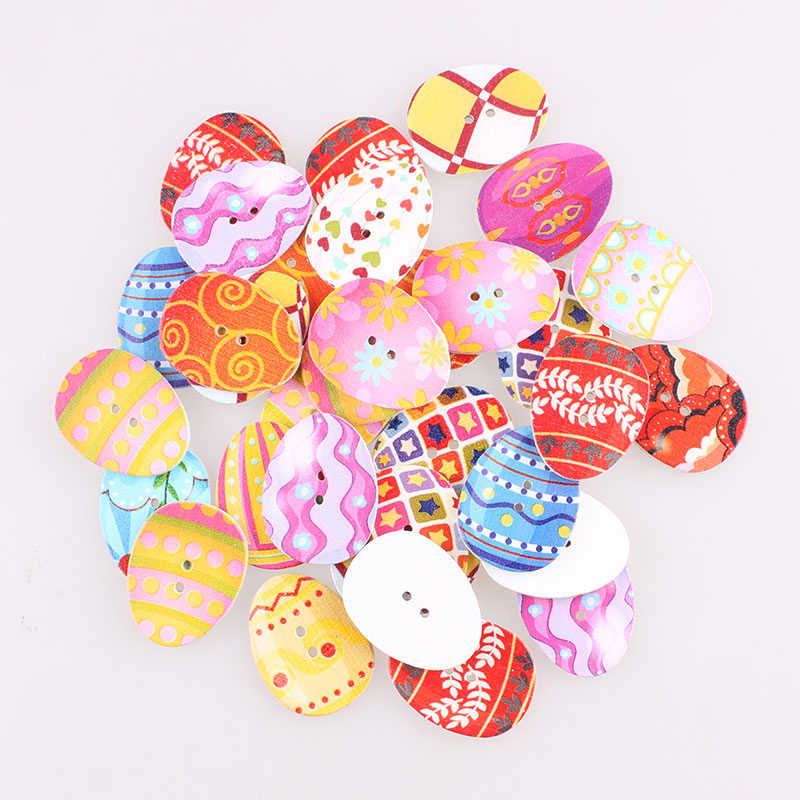 Mixed Spotted dog Wooden Buttons Fit Sewing Scrapbooking Decoration Crafts 28mm