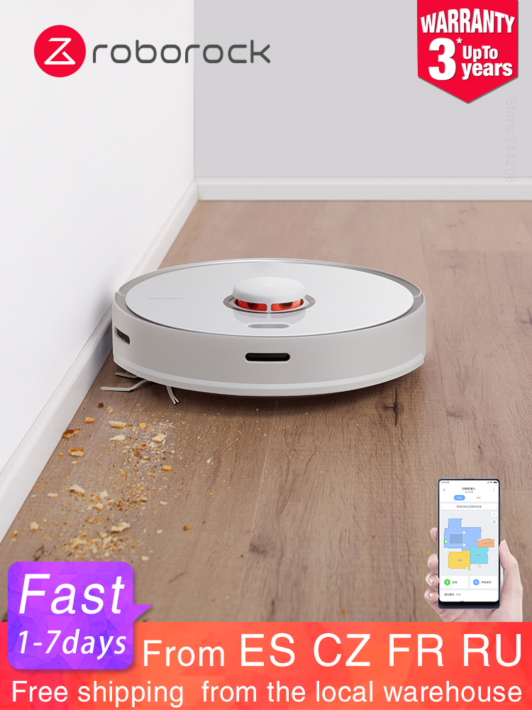 Roborock Vacuum-Cleaner Mop Xiaomi Max-Robot APP Smart Automatic Washing Mihome New WIFI