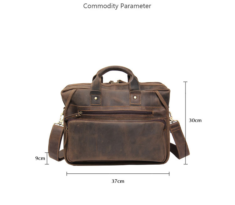 Hd097c2ac68f1473ebaebec64d1749896i MAHEU Vintage Leather Mens Briefcase With Pockets Cowhide Bag On Business Suitcase Crazy Horse Leather Laptop Bags 2019 Design