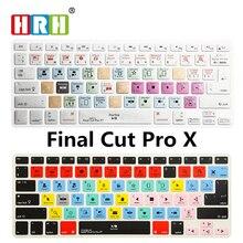 цена на A1278 Final Cut Pro X Shortcut keys Keyboard Screen Cover For Macbook A1278 Apple Find Cut Pro X KC_A1278_TY_FindCutProX