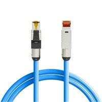Cat8 Cat7 Cat6A cavi Ethernet rete RJ45 collegamenti per Notebook cavo Patch precompletato 0.5M 1M 1.5M 2M 3M 4M 5M 7M 8M 10M 12M 15M