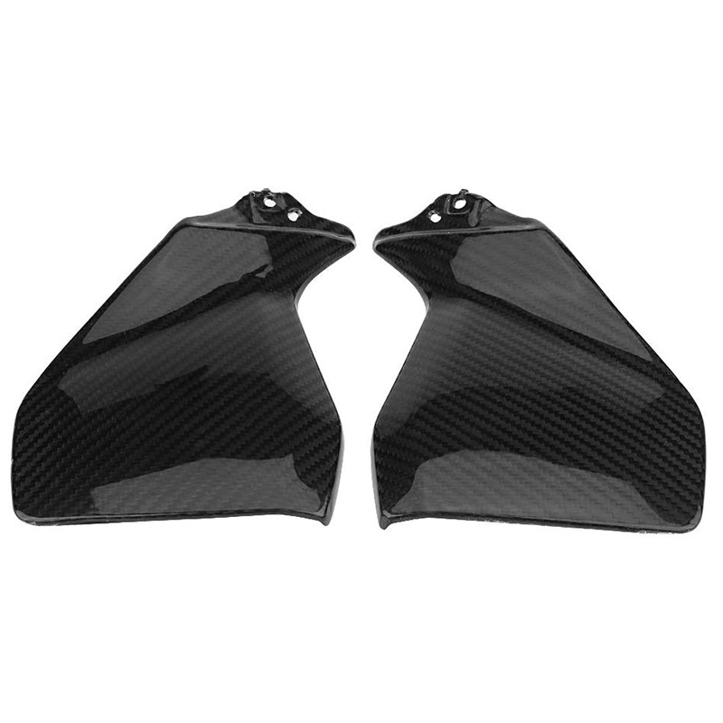 For YAMAHA MT-09 FZ-09 MT09 FZ09 2014 2015 2016 2017 MT 09 FZ 09 Real Carbon Fiber Gas Tank Side Cover Trim Fairing Motorcycle