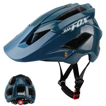 BATFOX nowy męska jazda na rowerze kaski rowerowe kask MTB do roweru szosowego i górskiego kask casco Capacete Bicicleta Da kaski L xl 56-62cm tanie i dobre opinie (Dorośli) mężczyzn 0 378kg 20 Formowane integralnie kask E5002 Bicycle helmet Cycling Helmet Bike Helmet (Adults) Men Women