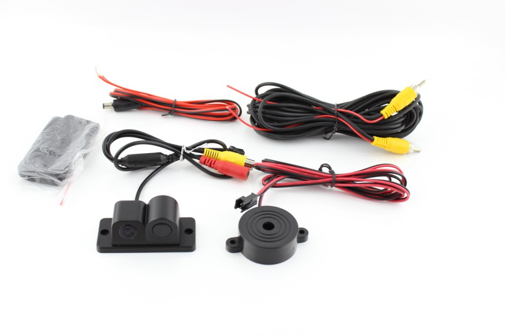 Two-in-One Reversing Radar And Webcam Car Reversing Camera PZ430 Car Reversing Camera