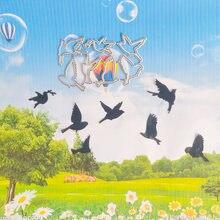 Декоративная высечка с птицами и флоком неба новый нож форма