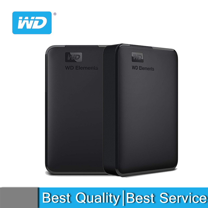 Western Digital WD External <font><b>hdd</b></font> 2.5inch hard drive 1TB <font><b>2TB</b></font> 4TB USB 3.0 Hard Drive Disk Original for PC laptop image