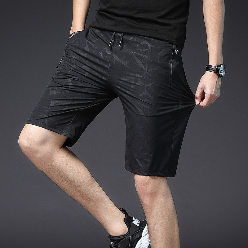 Casual Camouflage Shorts Men Compression Beach Shorts Bermuda Masculina Summer With Zipper Pockets Streetwear Printed 3xl New