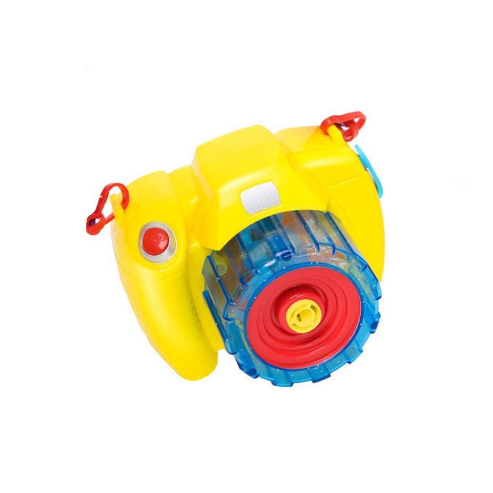 Children'S Electric Bubble Camera Toy With Light Music Children Festival Fun Gift Bubble Camera For Children