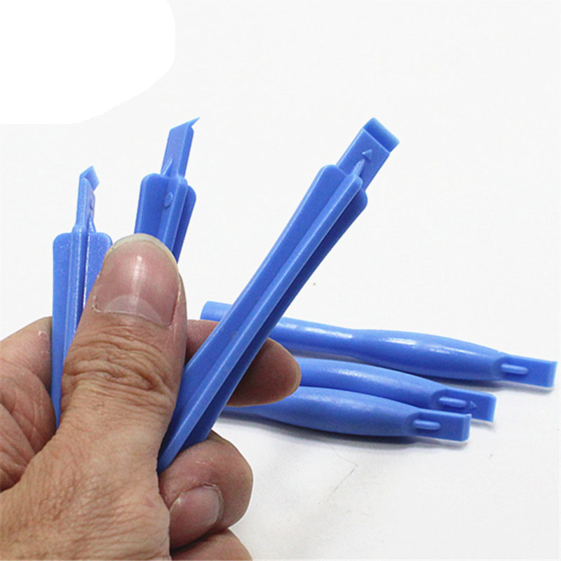100pcs/lot Mobile Phone Opening Tools Plastic Pry Bar For IPhone For Samsung Cellphone Electronic Repair Disassemble Rod Crowbar