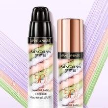Трехцветный смешанный лосьон для изоляции заполняет поры осветляющая кожа основа под макияж консилер, база под макияж жидкость рекомендуется