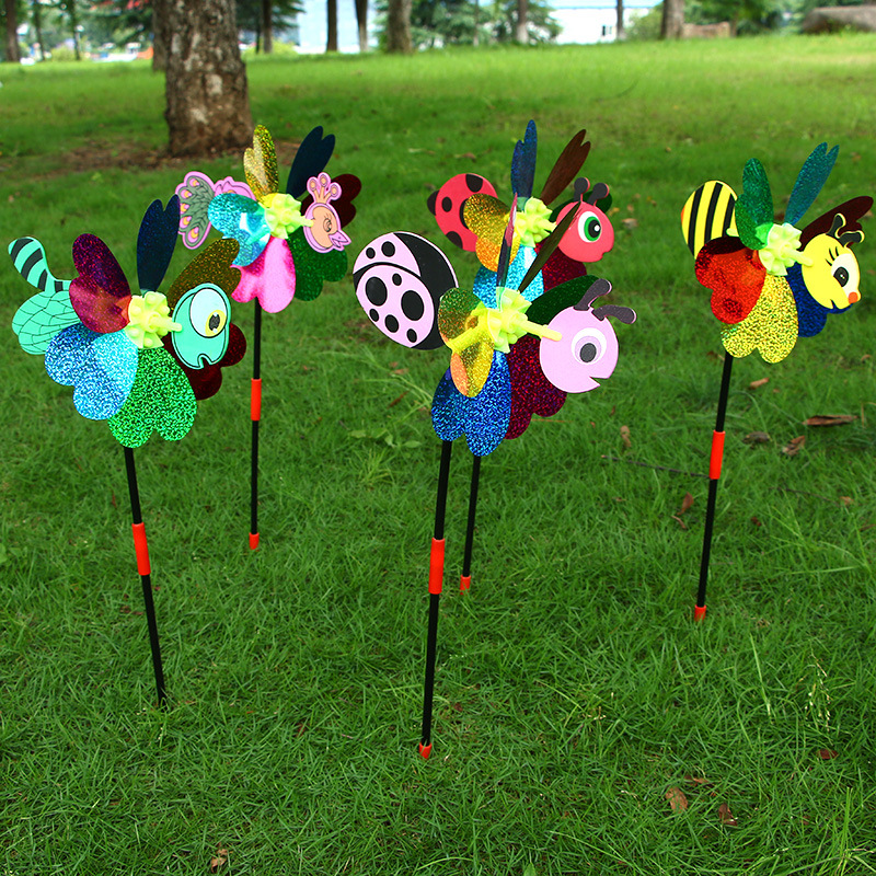 Decorative Wind Spinners Garden Decor