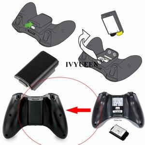 Image 2 - Ivyueen 20 xbox 360 ワイヤレスコントローラー単三電池ケースホワイトバッテリーパックカバーの交換ハウジングシェル