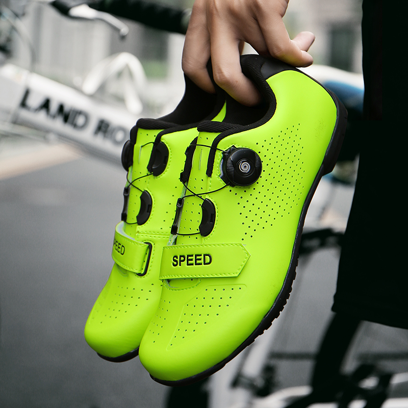 Road cycling shoes men sapatilha ciclismo racing mountain bike ultralight Non-locking bicycle Athletic Sports sneakers Women