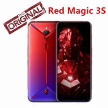 الإصدار العالمي من هاتف النوبة الأحمر السحري 3S شاشة 6.65 بوصة 8 جيجابايت 128 جيجابايت سنابدراجون 855 Plus 48.0MP + 16.0MP 5000mAh هاتف الألعاب
