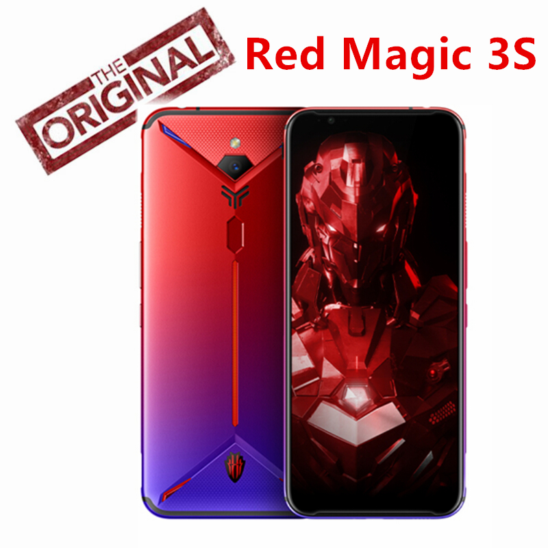 Global Version Nubia Red Magic 3S Mobile phone 6.65 inch 8GB 128GB Snapdragon 855 Plus 48.0MP+16.0MP 5000mAh Game Phone(China)