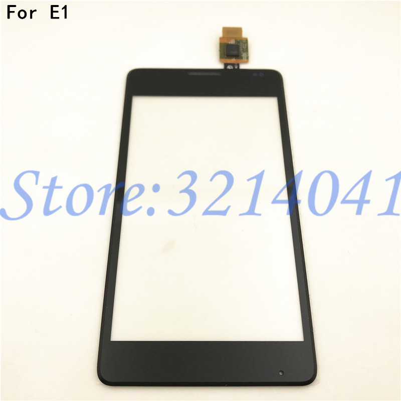 Original 4.0 inches Touch Screen For <font><b>Sony</b></font> <font><b>Xperia</b></font> <font><b>E1</b></font> D2004 <font><b>D2005</b></font> D2104 D2105 Touch Screen Digitizer Sensor With Logo image
