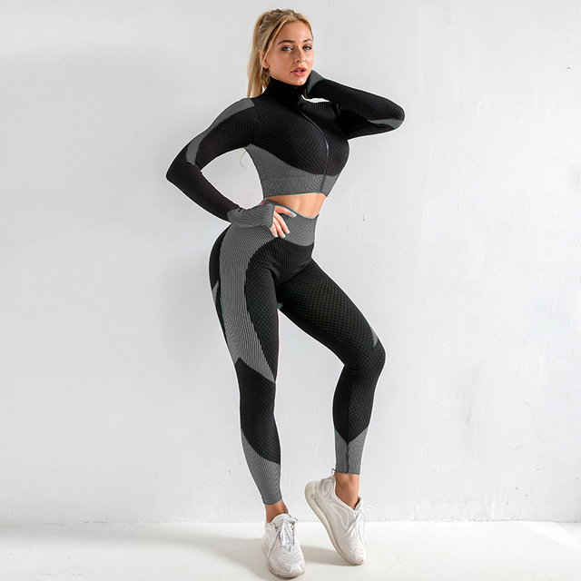 Women Yoga Set Gym Set Yoga Bra Suits for Gym