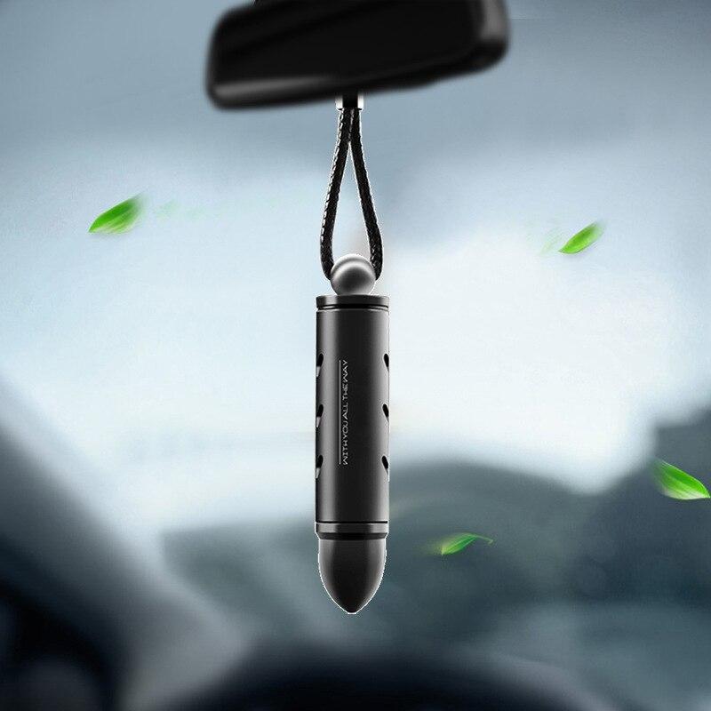 Colgante de coche para la decoración del hombre sin rostro con espejo retrovisor de automóvil accesorios de suspensión regalo Correas de reloj Retro de cuero genuino para hombre y mujer, 18mm, 20mm, 22mm, 24mm, accesorios para Hebilla de Metal KZSD05