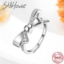 Женское Обручальное кольцо из серебра 925 пробы с фианитом