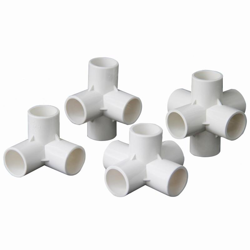 Соединительная муфта для аквариума, 20 мм, 25 мм, 32 мм, 40 мм, 50 мм, ID 3, 4, 5, 6 способов